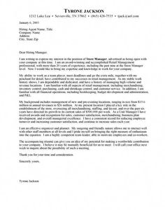 7 Top Sample Cover Letters images | Cover letter for resume, Writing ...