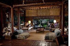 Eat pray love Bali house, inspiration, feeling of Eat Pray Love Bali, Eat Pray Love Movie, Balinese Interior, Balinese Decor, Bali House, Bungalows, Movie Set Decor, Come Reza Ama, Bali Decor