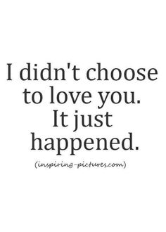 My heart made that choice. < xo > ❤❤❤