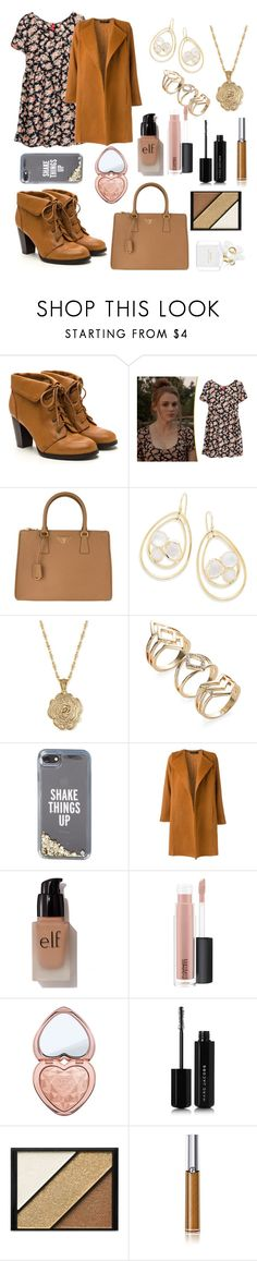 """""""lydia martin"""" by puccipucci ❤ liked on Polyvore featuring Prada, Ippolita, 2028, Kate Spade, Andrea Marques, e.l.f., MAC Cosmetics, Too Faced Cosmetics, Marc Jacobs and Elizabeth Arden"""