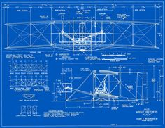 1903 Wright Flyer Blueprints