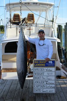 Team reels in 3rd largest blue marlin in Big Rock history | News