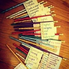Awesome idea... maybe for each student on their birthday?
