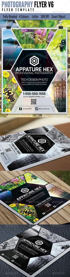 Photography Flyer V6  #GraphicRiver                     This clean and simple 4th release of Photography Flyer Features
