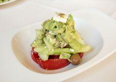 Petros Restaurant Manhattan Beach/ Horiatiki Salad, Gluten Free Dining, Greek Restaurant, Greek Food, Healthy Dining