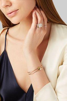 Pomellato - Nudo Solitaire 18-karat White Gold, Rose Gold And Diamond Ring - 15