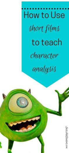Teach characterization by using fun, short videos with compelling characters and problems. Guide students through character analysis with critical thinking questions. Ideal middle school activity -- five video suggestions. Perfect mini lesson and intro
