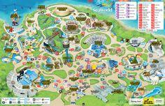 Park Map | SeaWorld San Diego