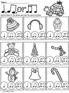 FREE WINTER SPEECH RHYTHM PRINTABLE WORKSHEETS - TeachersPayTeachers.com
