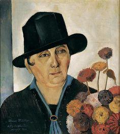 Felix Nussbaum - My Mother (1926)