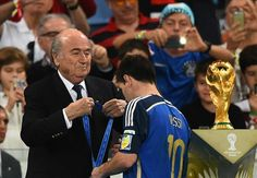 Messi was absent in the World Cup final - Kempes