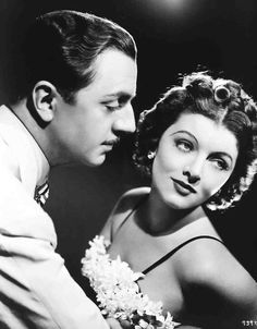 Great photo of Nick and Nora Charles *aka William Powell and Myrna Loy*