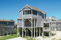 Snug Harbor OBX: 3 Bedroom, 2 1/2 Bath - Outside Shower - Oceanside- Buxton NC