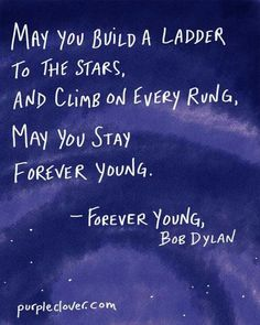 Forever Young | Bob Dylan #lyrics