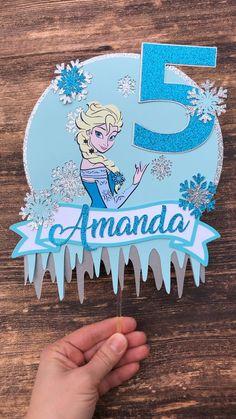 Frozen Birthday Decorations, Frozen Birthday Banner, Frozen Theme Cake, Frozen Birthday Invitations, Frozen Themed Birthday Party, Disney Frozen Birthday, Frozen Cake Topper, Birthday Party Themes, Disney Frozen Cake