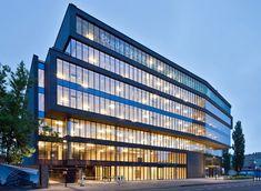 office building grzybowska street - warsaw - grupa 5 - photo marcin czechowicz