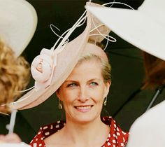 Sophie, Countess of Wessex attends a garden party held at Buckingham Palace on 03.06.2014 in London, England.