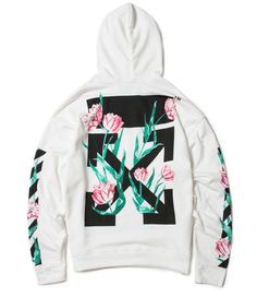 3fafb9d8e270 Off White Tulip Diagonal Hoodie. Colors  Black White