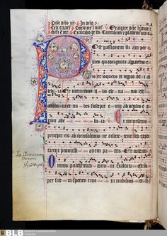 Well worth clicking through and zooming in - 274 [135v] - Antiphonale cisterciense de tempore - Seite - Handschriften - BLB Karlsruhe