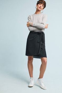Shop the Pinstriped Wrap Skirt and more Anthropologie at Anthropologie today. Read customer reviews, discover product details and more.
