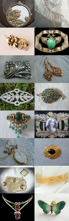 Team Love Flash Pro Treasury Art Nouveau by Mary Ellen on Etsy--Pinned with TreasuryPin.com