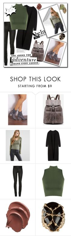 """""""SheIn💕"""" by aumnea ❤ liked on Polyvore featuring Shoe Closet, Missguided, Theory, ElleSD, WearAll, Kate Spade and Rosantica"""