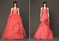 Ezek a ruhák nemcsak színükben adják vissza a rózsa életteli, piros árnyalatát, hanem megjelenésükben is. Vera Wang Bridal, Prom Dresses, Formal Dresses, Absolutely Gorgeous, Fall, How To Wear, Magazine, Weddings, Design