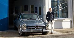 Paul Bracq was the design director for both Mercedes-Benz (1957-1967) and rival BMW (1970-1974.) During his time at Mercedes he designed multiple classics, with the 230/250/280 SL perhaps being his best-known.