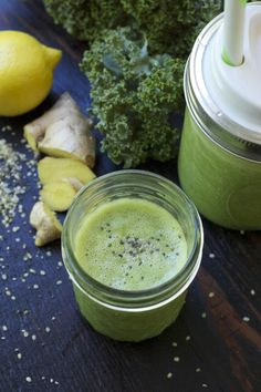 Kale and Ginger Smoothie