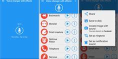 تطبيق مسلي لتغيير صوتك على أجهزة الإندرويد