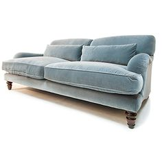 Home Sofa, Sofa Uk, New Living Room, Living Room Sofa, Living Room Decor, Homemade Sofa, Howard Sofa, Blue Velvet Sofa, Sofa Furniture