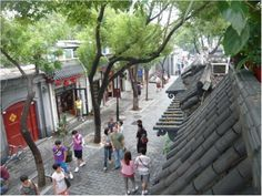 """Nanluoguxiang in Beijing #1. From my paper, """"Urban conservation and revalorisation of dilapidated historic quarters"""""""