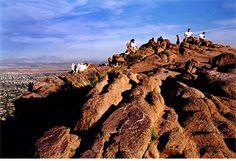 hiking Camelback