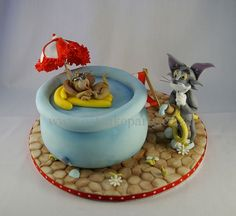 https://flic.kr/p/aDfxW7 | Tom & Jerry | I had great fun making this one!! www.eatcakeparty.co.za Like us on facebook