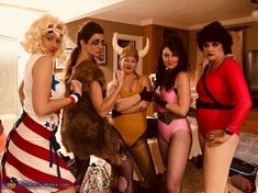 Gorgeous Ladies of Wrestling - Glow Costume Halloween Costume Contest, Halloween Diy, Costume Ideas, Glow Costume, Costume Works, Gorgeous Ladies Of Wrestling, Creative Costumes, Women's Wrestling, Gorgeous Women