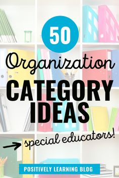 Special educators - this is YOUR year to get and stay organized. Here's a new system that will help you achieve your organization goals!