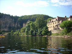 Canoeing on the Dordogne - France