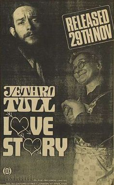 Music Posters, Concert Posters, Jethro Tull, Vintage Rock, Classic Rock, Emerson, Rock Music, Singers, Blues