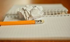 Pencil, Notes, Chewed, Paper Ball