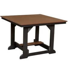 Little Cottage Company Heritage Dining Table Finish: Bright Red
