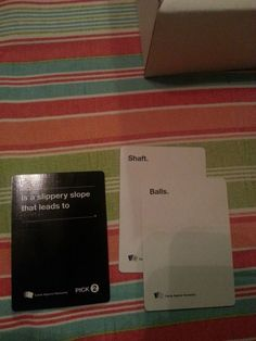 "Actually, this one is anatomically correct. 24 Times ""Cards Against Humanity"" Was Too Real Funniest Cards Against Humanity, Cards Of Humanity, Humanity Game, Funny Photos, Funny Images, Funny Facebook Posts, Love Ecards, Horrible People, English Jokes"