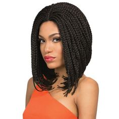 Outre Lace Front Wig X-Pression BOX BRAID SMALL BOB