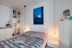 Sehr Schönes, Helles Schlafzimmer! Weiße Möbel Sind Sehr Im Trend! #white #