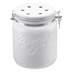 from williams crock with clamp lid