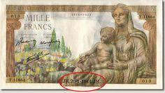 le billet de 1000 franc