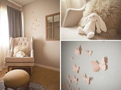 Inspiration for Soft and Soothing Sitting area in Nursery