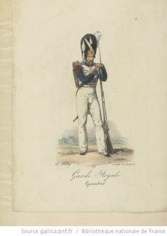 [Maison du Roi et garde royale de Louis XVIII, 1817.] / Ch. Aubry - 9