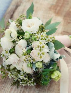 Wedding Reception Ideas: Vintage Wedding Bouquet