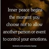 Not even YOUR emotions are YOU. Emotions are messages TO you.