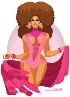 Roxxxy Andrews: Rupaul's Drag Race Season 5, Episode 6